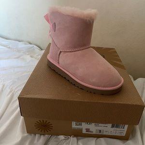 UGG girl pink boots